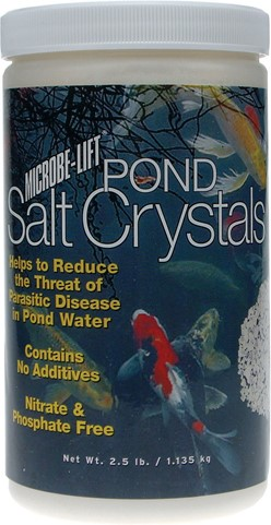 Pond Salt Crystals 2.5lb