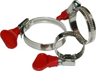 Winged Hose Clamps  1/2""