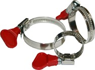 Winged Hose Clamps  1""
