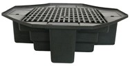 "40"" Basin with Bench Grating"