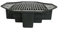 "48"" Basin with Bench Grating"