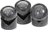 LED 3 Pack Light with Photocell & Transformer