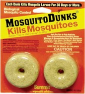 Mosquito Dunks  2/card